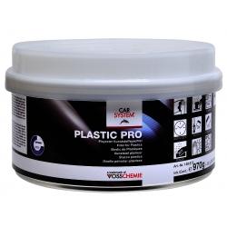 Plastic Pro kunststof plamuur 1 kg zwart