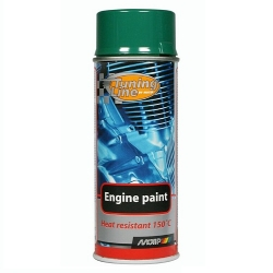 Motorlak / Engine paint groen spuitbus 400ml