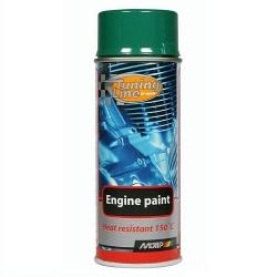 Motorlak / Engine paint groen spuitbus 400ml