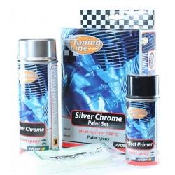 Silver Chrome set