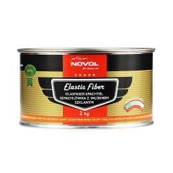 Elastic Fiber Plamuur - NOVOL for Classic Car
