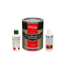 Spuitplamuur P-S met mix indicator 1,2 liter - NOVOL