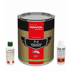 Spuitplamuur P-S met mix indicator 2,7 liter - NOVOL