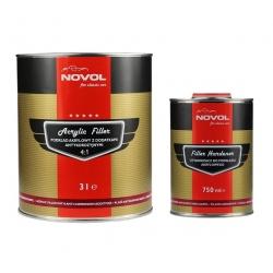 Acryl primer/filller 4:1 Anti Corrosie - 3 liter -  NOVOL