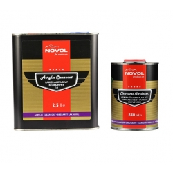 Acryl blanke lak 3:1 - set 3,3 liter -  NOVOL