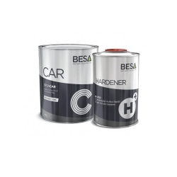BESA CAR HS Grondlak licht grijs RAL7035 - set 5 liter