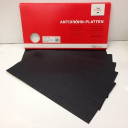 Antidreunplaten Bitumen, 25x50cm 5 stuks