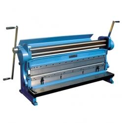 3-in-1 zet/knip/wals combinatie machine 1320 mm breedt