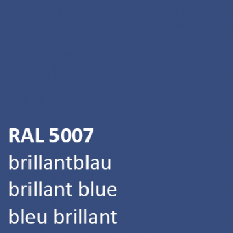 Blauw RAL 5007 HOOGGLANS 1,5 KG