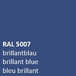 Blauw RAL 5007 zijdeglans 500 gram