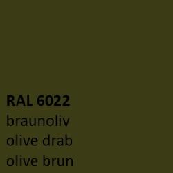 Olijf bruin RAL 6022 zijdeglans 500 gram