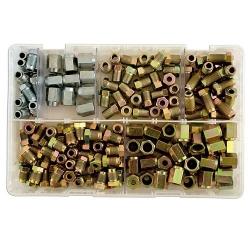 Assortiment remleiding nippels 135 delig