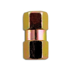 Nippel Metrisch dubbel female M10x1.0mm