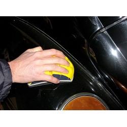 Schuurpad flexibel met klitteband rond 150mm
