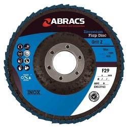 ABRACS lamellenschijf 125mm, korrel 80