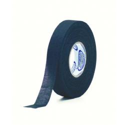 Linnen tape voor kabelbescherming, zwart 19mm x 25M