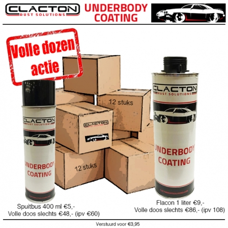Underbody coating Clacton Rust Solutions 1 liter normbus