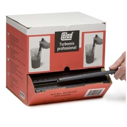 Roerstokjes Colad Turbomix professioneel - 200 stuks in dispenser