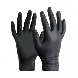 NITRIL handschoenen PRO zwart 100 stuks