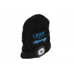 Laser Tools Racing Beanie met oplaadbare LED Lamp