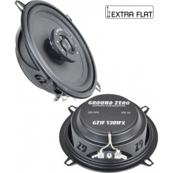 Speakers diam. 130mm / inbouw diepte 37mm Ground Zero Iridium GZIF 5201FX