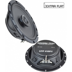 Speakers diam. 165mm / inbouw diepte 44mm Ground Zero Iridium GZIF 6501FX