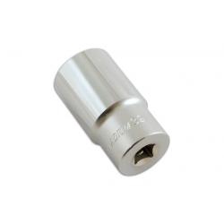 """Dop lang/diep zeskant 1/2"""" aansluiting van 10 t/m 32mm"""