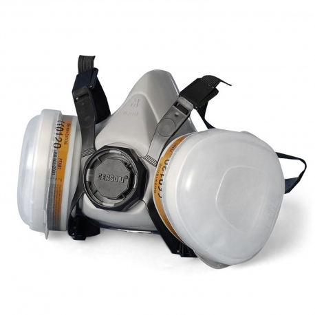 Gerson 8000E halfgelaatsmasker spuitmasker