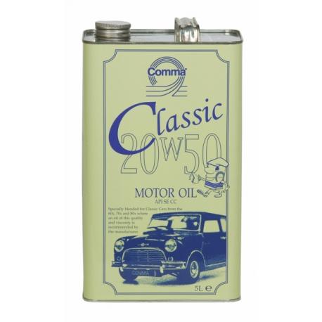 Comma Classic Motor oil 20W50 5 Liter