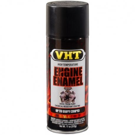 VHT ENGINE ENAMEL™ Flat Black (Mat zwart)