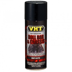 VHT Roll bar & Chassis paint satiin black (zijdeglans zwart)