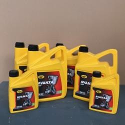 22 liter Motorolie AVANZA MSP 5W30