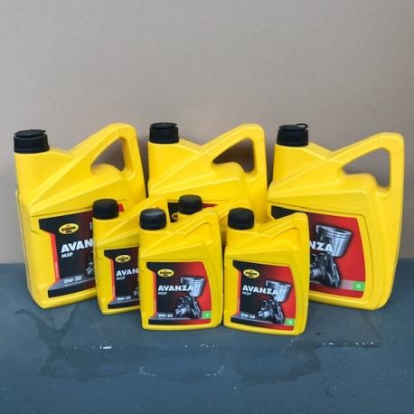 KROON OIL AVANZA MSP 0W30