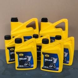 15 liter Motorolie HELAR SP 0W30