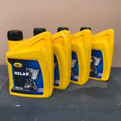 4 liter Motorolie HELAR SP 0W40