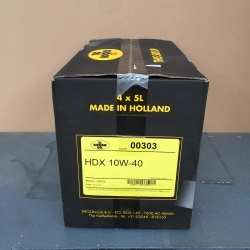 22 liter Motorolie HDX 10W40