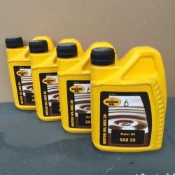 4 liter Motorolie HDX 30