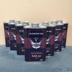 7 liter Putoline Genuine V-Twin SAE 50