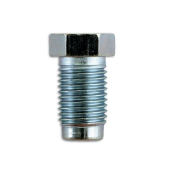 "Nippel Inch male lang 7/16"" UNF x 20tpi voor 1/4"" leiding."