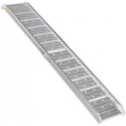Oprijplaat aluminum opvouwbaar 200 kg