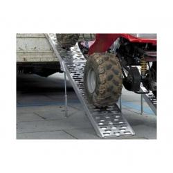 Oprijplaat 680 kg aluminum opvouwbaar