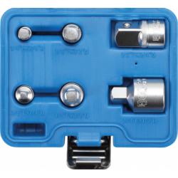 Adapter set 6-delig / doppen verloop adapters