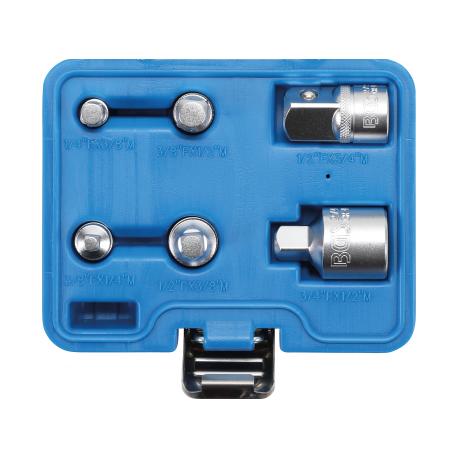 Adapter set 6-delig / doppen verloop adapters