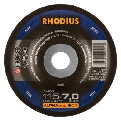 Afbraamschijf met kom 115x7mm KSM V27 Rhodius