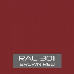 Bruin rood zijdeglans 750 gram Poedercoat poeder
