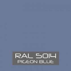 Duifblauw zijdeglans 750 gram Poedercoat poeder
