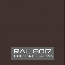 Chocolade bruin hoogglans 750 gram Poedercoat poeder
