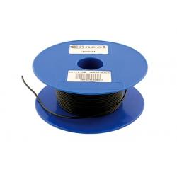 Draad 1mm2 zwart PVC - haspel 50 meter