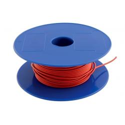 Draad 1mm2 rood PVC - haspel 50 meter