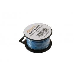 Draad 1mm2 blauw PVC - mini haspel 6 meter